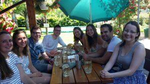 Besuch von der Regensburger Regionalgruppe,